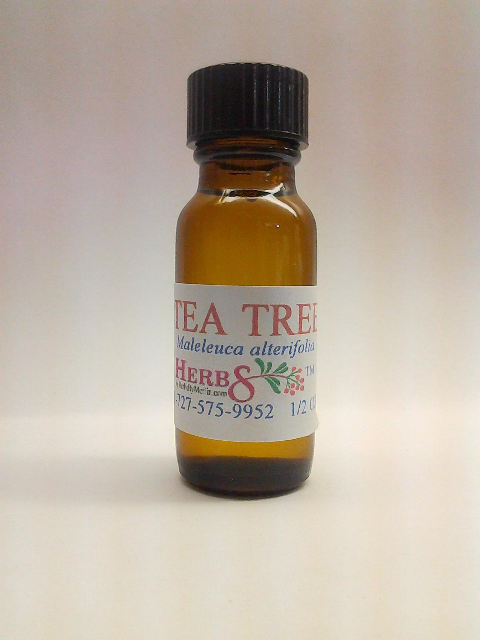 Herbs By Merlin Tea Tree Essential Oil 1/2 ounce (Melaleuca